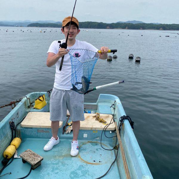 こだま渡船 カセ釣り釣果 2020/06/27