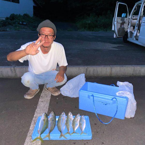 こだま渡船 カセ釣り釣果 2020/09/15