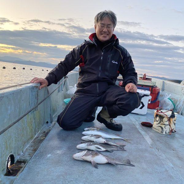 こだま渡船 カセ釣り釣果 2020/11/13