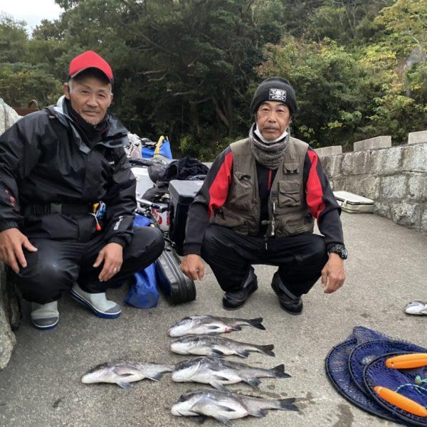 こだま渡船 カセ釣り釣果 2020/11/22