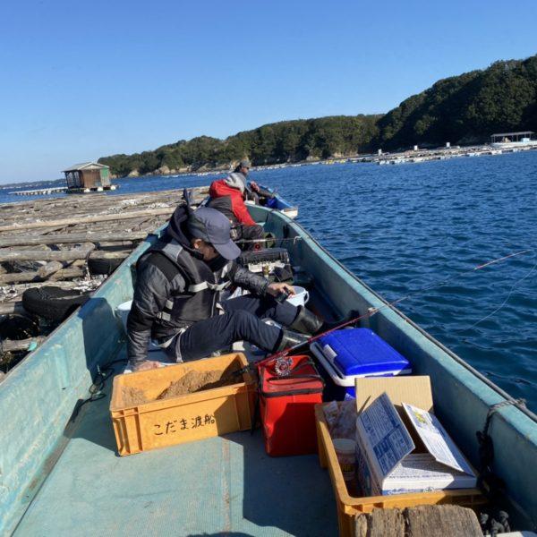 こだま渡船 カセ釣り釣果 2020/12/05