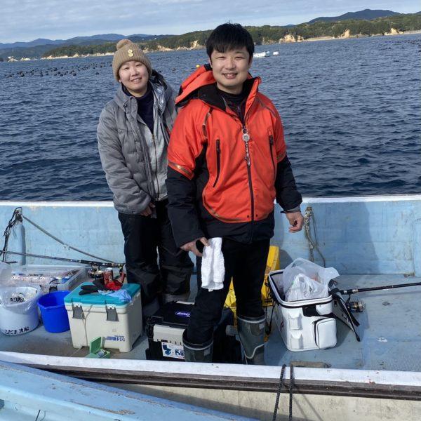 こだま渡船 カセ釣り釣果 2020/12/11
