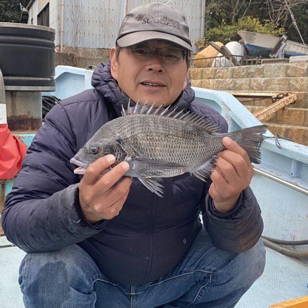 こだま渡船 カセ釣り釣果 2020/12/13
