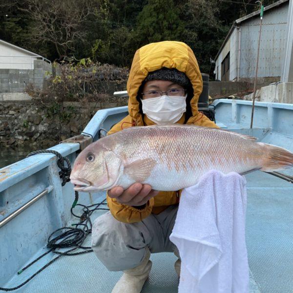 こだま渡船 カセ釣り釣果 2020/12/18