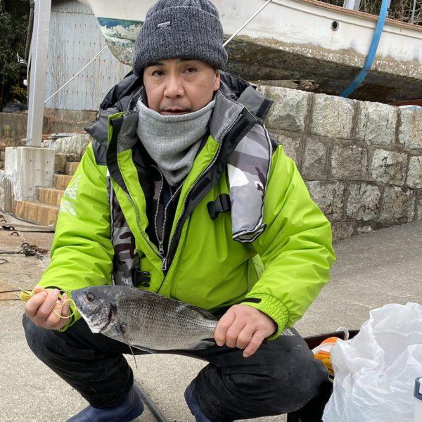 こだま渡船 カセ釣り釣果 2020/12/20