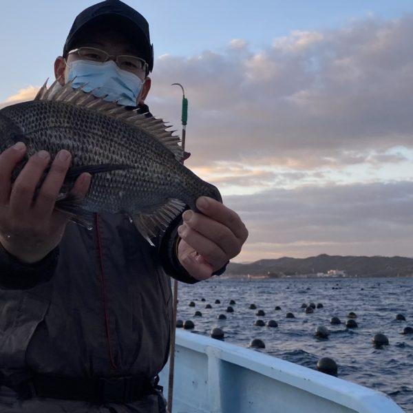 こだま渡船 カセ釣り釣果 2020/12/26