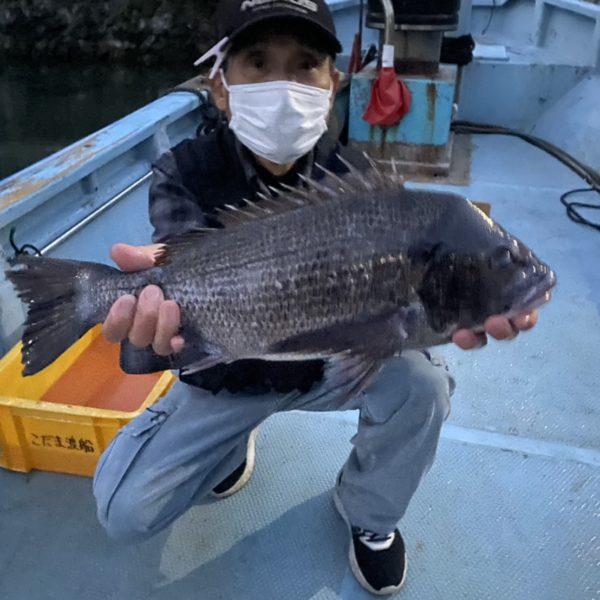 こだま渡船 カセ釣り釣果 2020/12/27