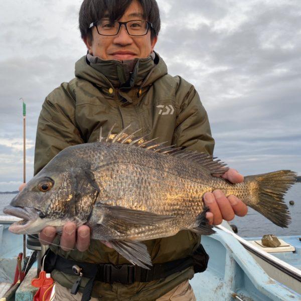 こだま渡船 カセ釣り釣果 2021/1/12