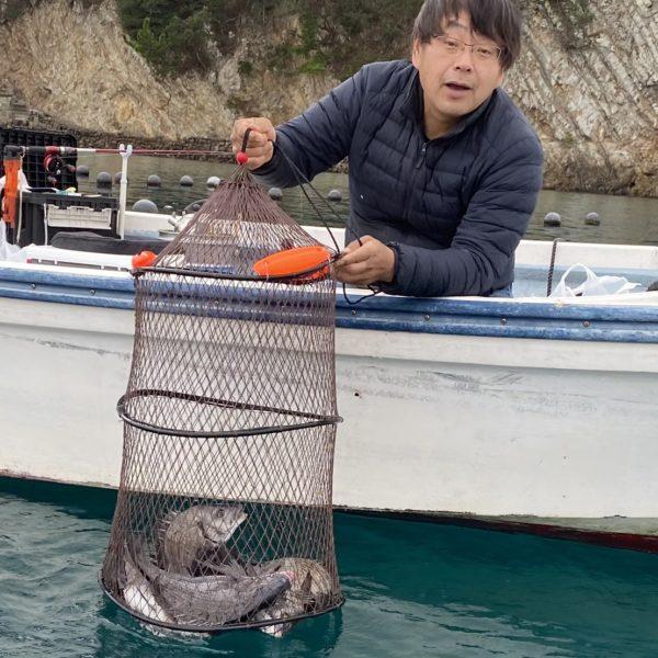 こだま渡船 カセ釣り釣果 2021/2/13