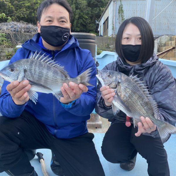 こだま渡船 カセ釣り釣果 2021/4/11
