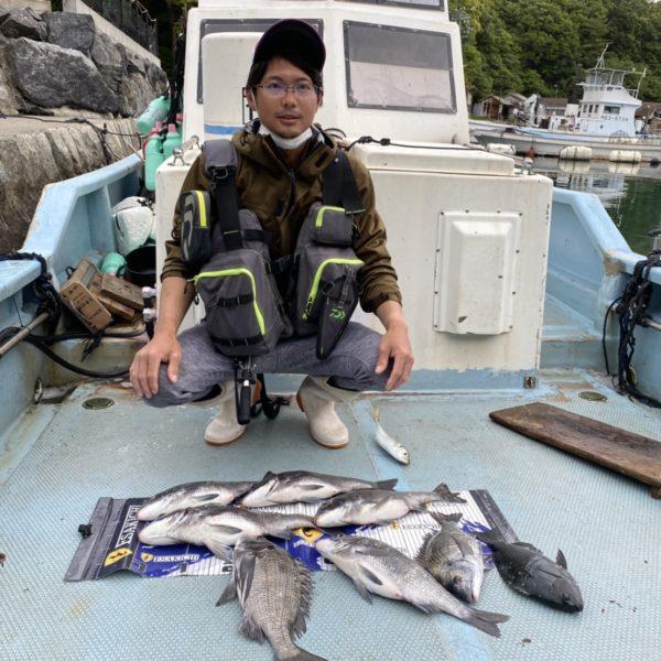 こだま渡船 カセ釣り釣果 2021/4/28