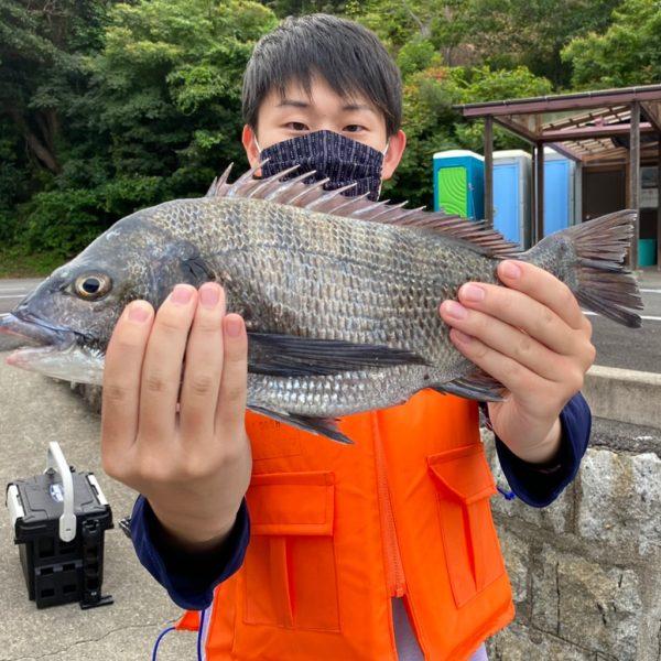 こだま渡船 カセ釣り釣果 2021/6/12