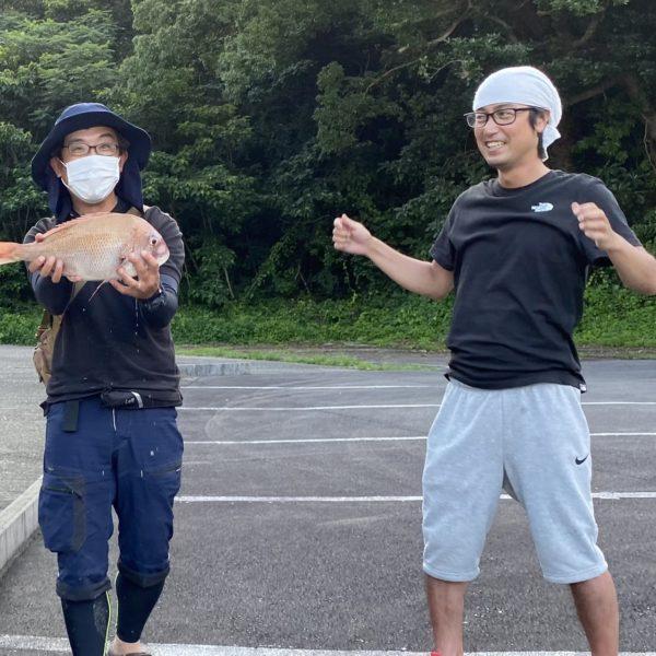 こだま渡船 カセ釣り釣果 2021/7/14